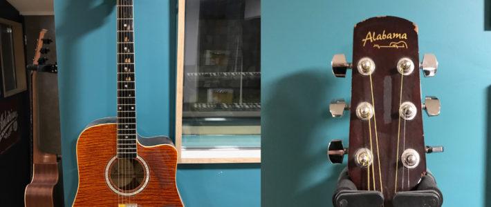 Guitare électro acoustique ALABAMA