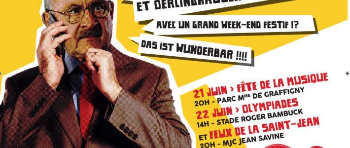 On a fêté les 30 ans du jumelage avec Oerlinghausen les 21 et 22 juin !