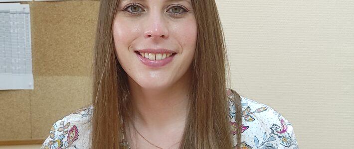 Jennifer LETELLIER nouvelle gestionnaire carrière paie
